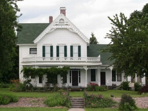 Zimmerman House  (photo courtesy of  Fairview-Rockwood-Wilkes Historical  Society)
