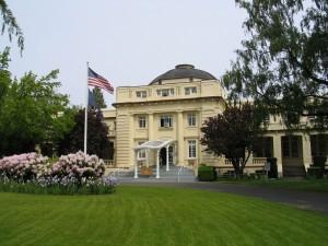 Dome Building exterior  (Photo courtesy University of Oregon Libraries)