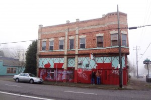 Rinehart Building, Portland, before work began (Photos Courtesy Oregon Heritage).