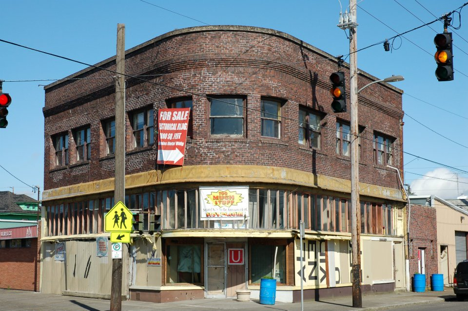 Current conversations with two local non-profits may afford an opportunty to revitalize this building (Photo courtesy of Emerick Architects)