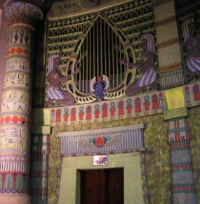 Interior decoration Egyptian Theatre