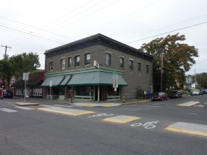 Unreinforced masonry building in SE Portland (Photo courtesy Rob Dortignacq)