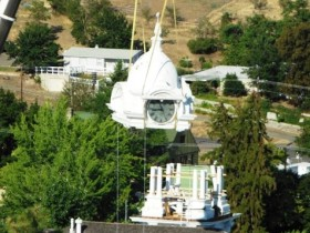 Courthouse restoration in progress (photo courtesy of The Association of Oregon Counties)