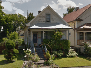 1904 house at 3614 NE Rodney. <br>Image courtesy Google maps.