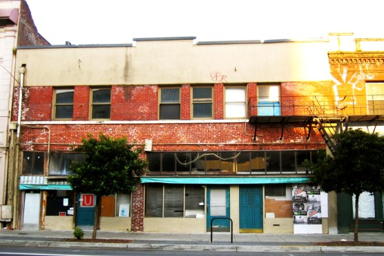 Exterior view of the Wong Laundry Building (photo courtesy Tanya Lyn March)
