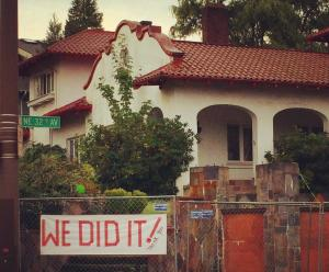 Laurelhurst's Markham House was saved in part due to a 120-day demolition delay extension (Photo: Save the Markham Home)