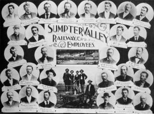 Sumpter Valley Railway employees