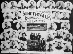 Sumpter Valley Railway employees