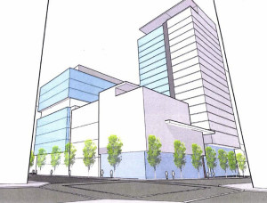 Proposed Hotel (Image: Next Portland)