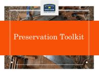 PreservationToolkit