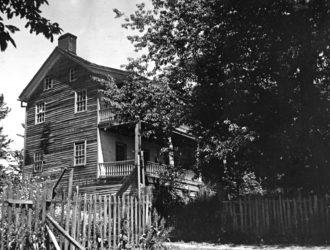 Aurora,  Oregon Old Keil House, built 1860 #65.2