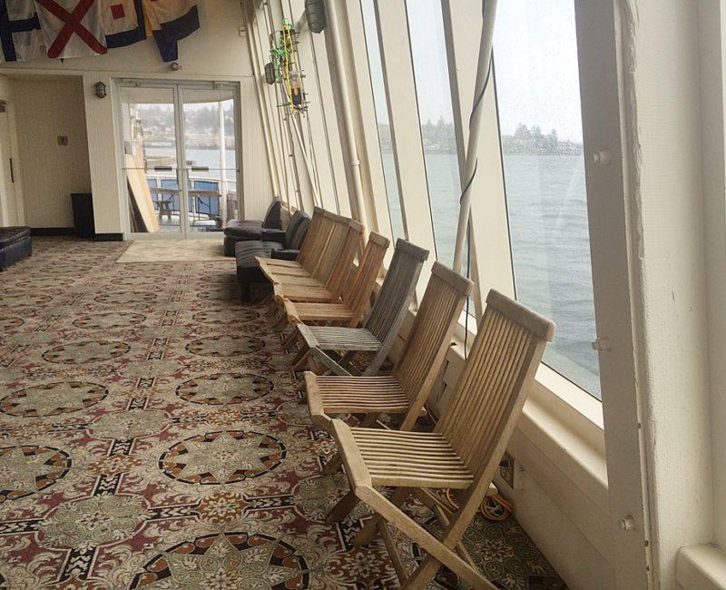 Main deck port looking aft 2015