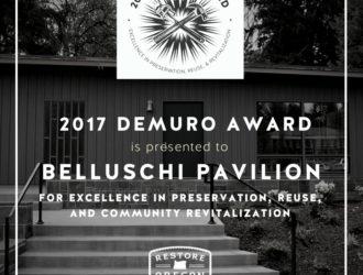 social 2017 Belluschi Demuro award