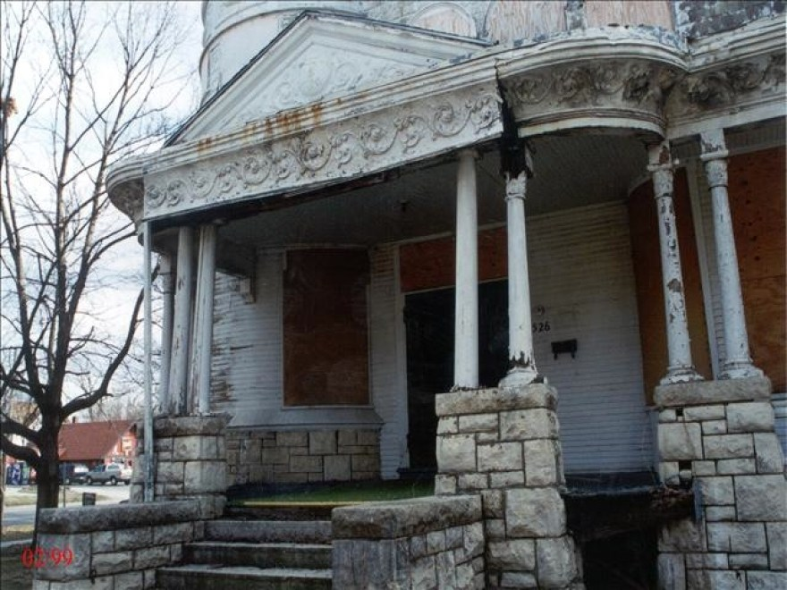 The front porch, 1999.
