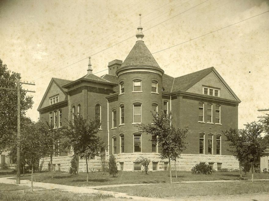 The Century School, Emporia, KS, by Charles W. Squires. Demolished.