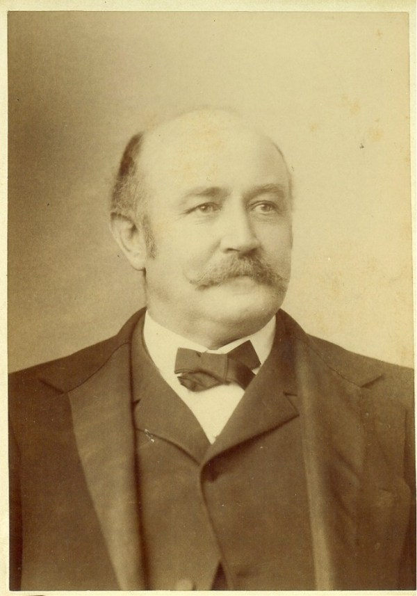Harrison Cross. Sadly, I cannot find an image of Susan Cross. Image courtesy of the Lyon County Historical Society.