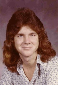 1974. It's true. I once had hair. Or, hair once had me.