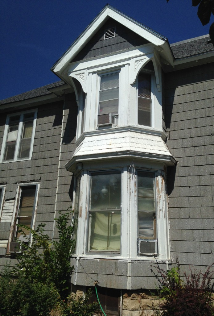 ...and there are more!!!!! Note the original lap-siding peeking out to the left. Hello!