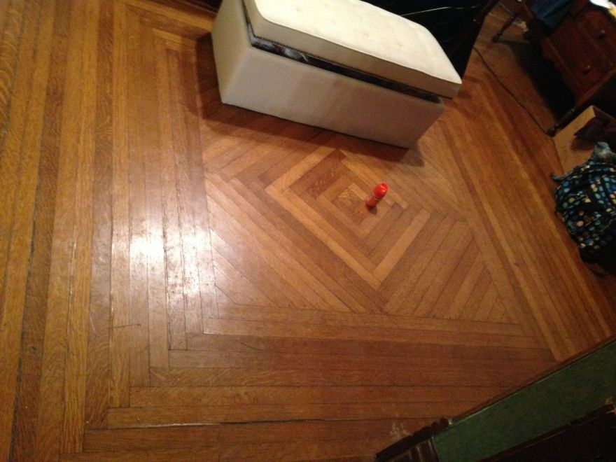 The way cool floor of the second living room.