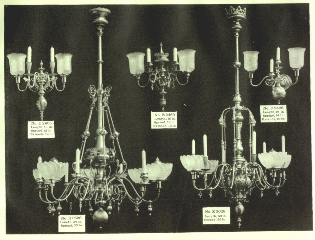 A Brief History of Gas/Electric Lighting | Restoring Ross