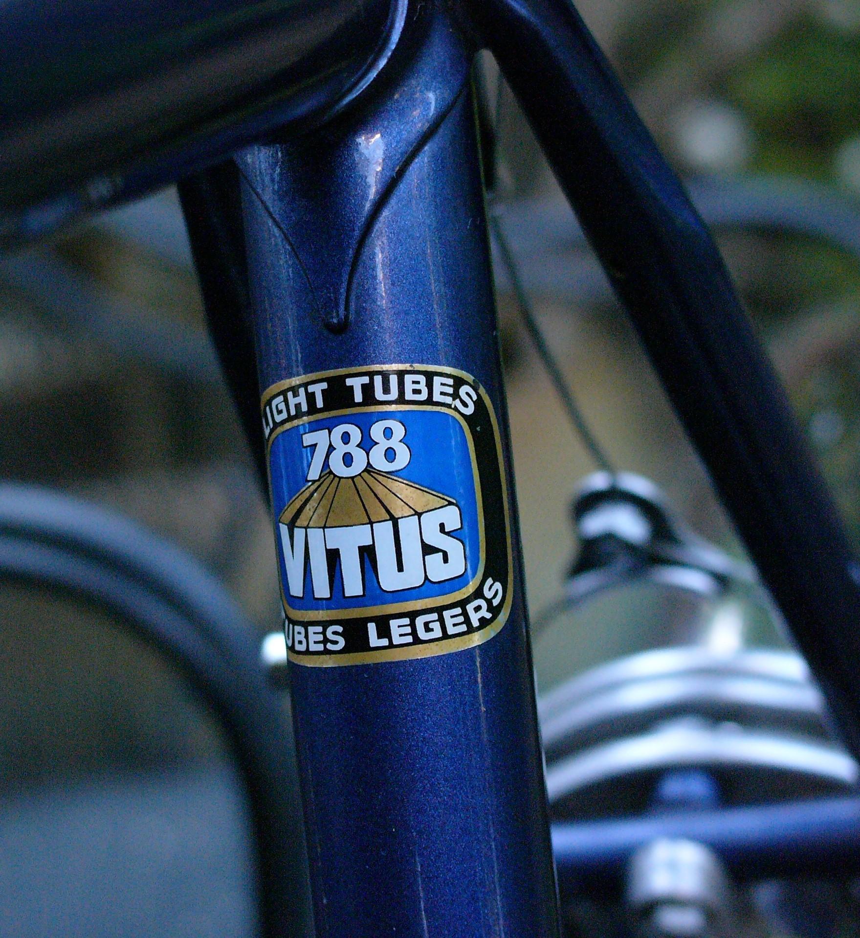 Super Vitus 172 tubing sticker.