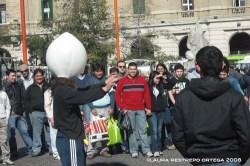 street performer Santiago de Chile