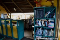biblioteca y cocina el cantil