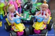 muñecas en cuatri motos