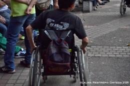 hombre en silla de ruedas - 10 años