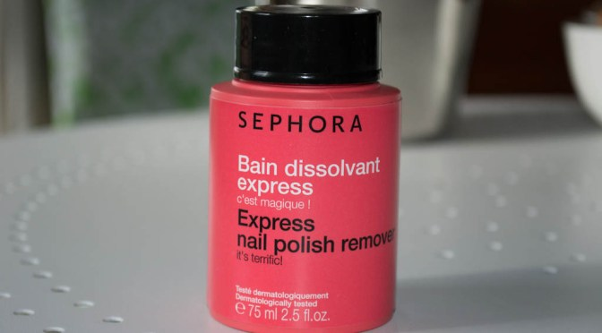 Czary mary – Sephora – Express nail polish remower