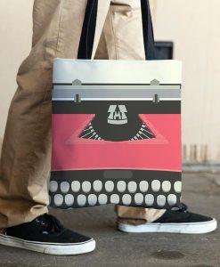 Typewriter red allovertote