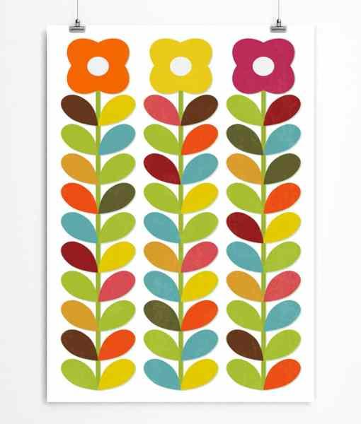 Scandi floral print