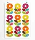 Scandinavian flowers print