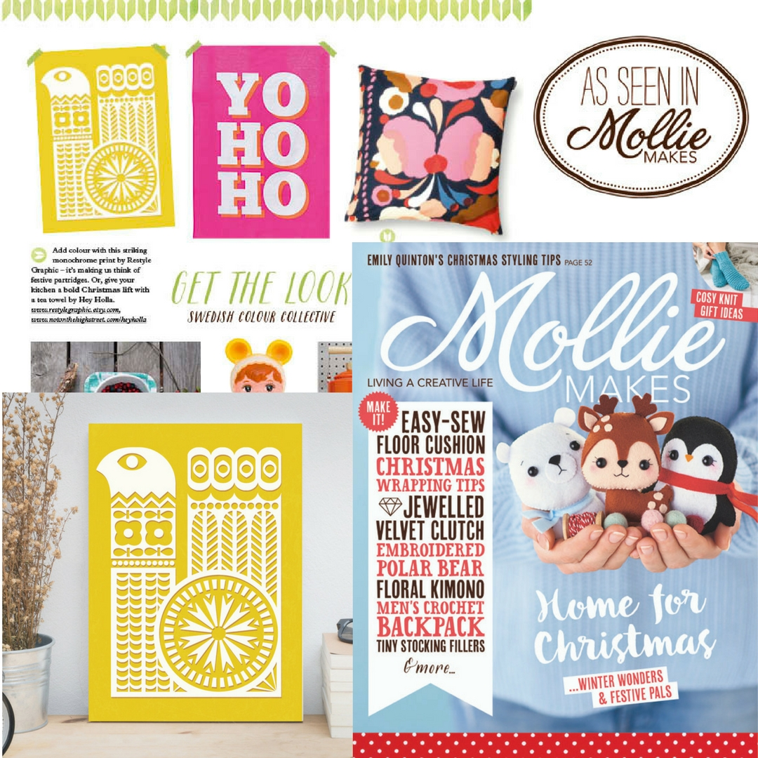 Mollie Makes magazine #73