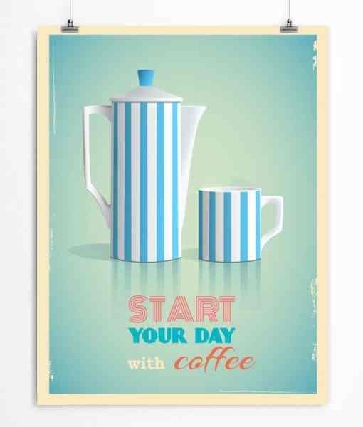 Coffee Pot Printable Poster