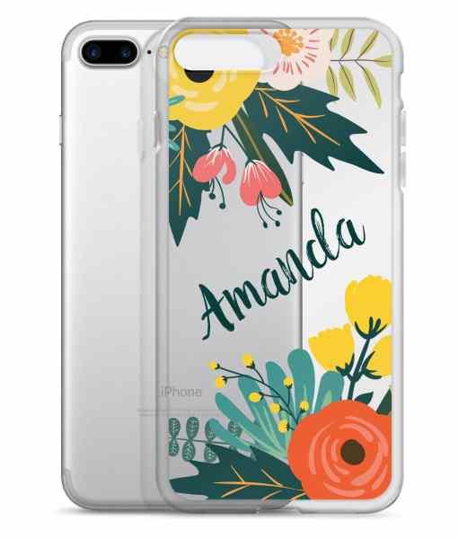 bouquet phone 7 plus case
