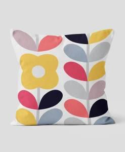Nordic Floral Pillow