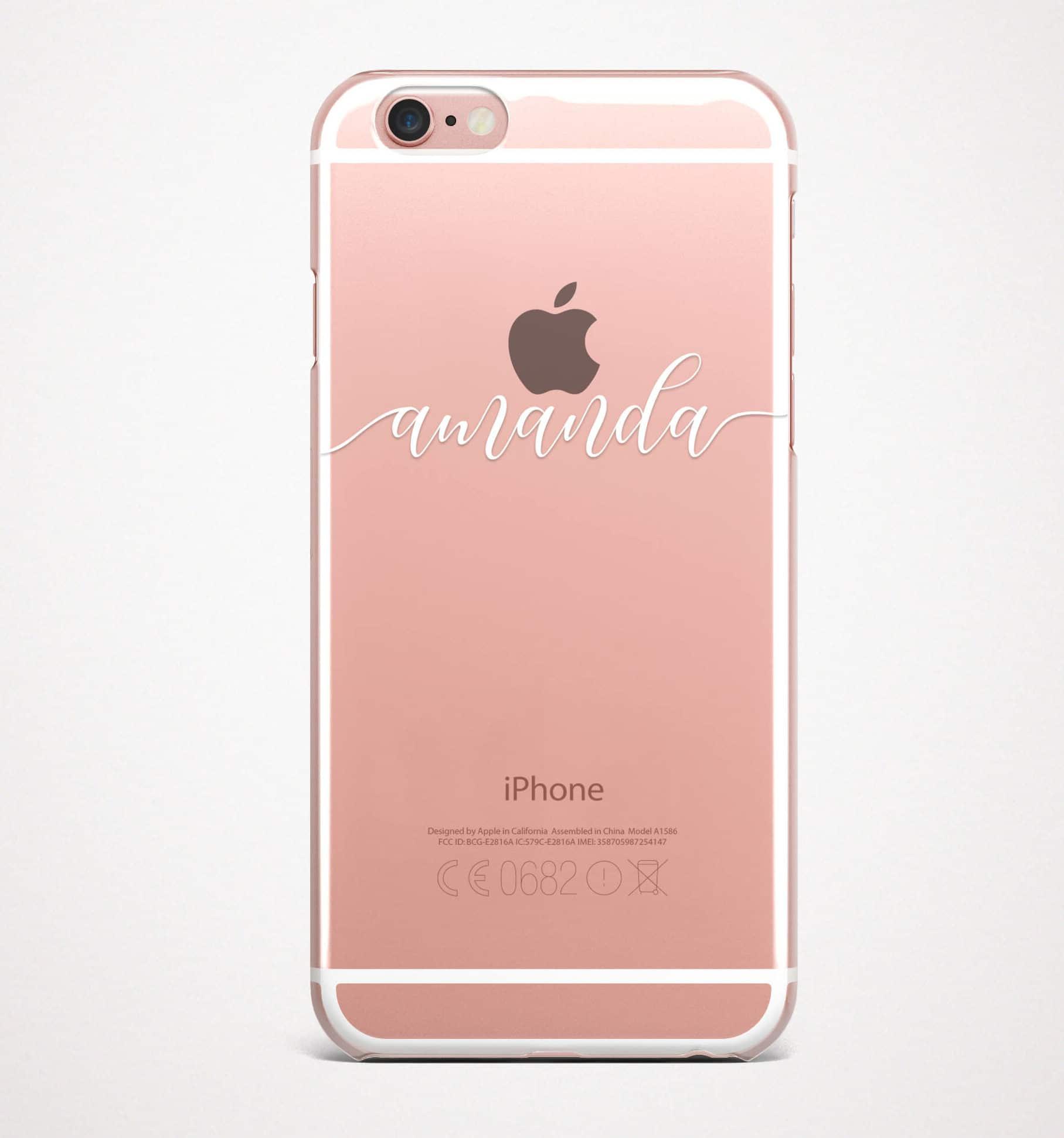Custom Name Iphone Case Restylegraphic