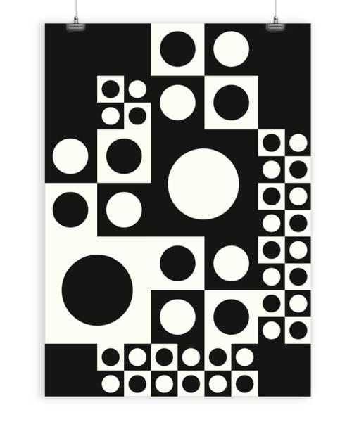 panton abstract art print