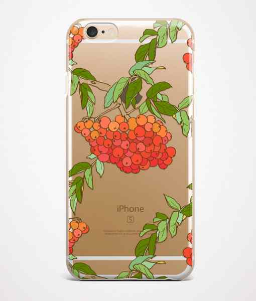 rowan phone case transparent gold