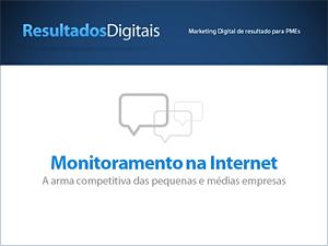 eBook grátis - Monitoramento Redes Sociais e Internet
