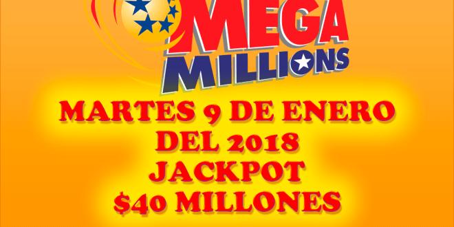 resultados mega millions 9 de enero 2018