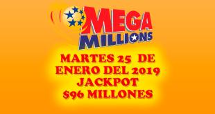 resultados mega millions 25 de enero 2019