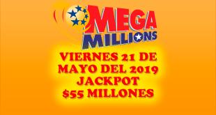 Resultados Mega Millions 21 de Junio