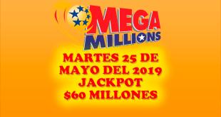 Resultados Mega Millions 25 de Junio