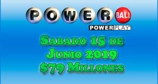 Resultados Powerball 15 de Junio 2019