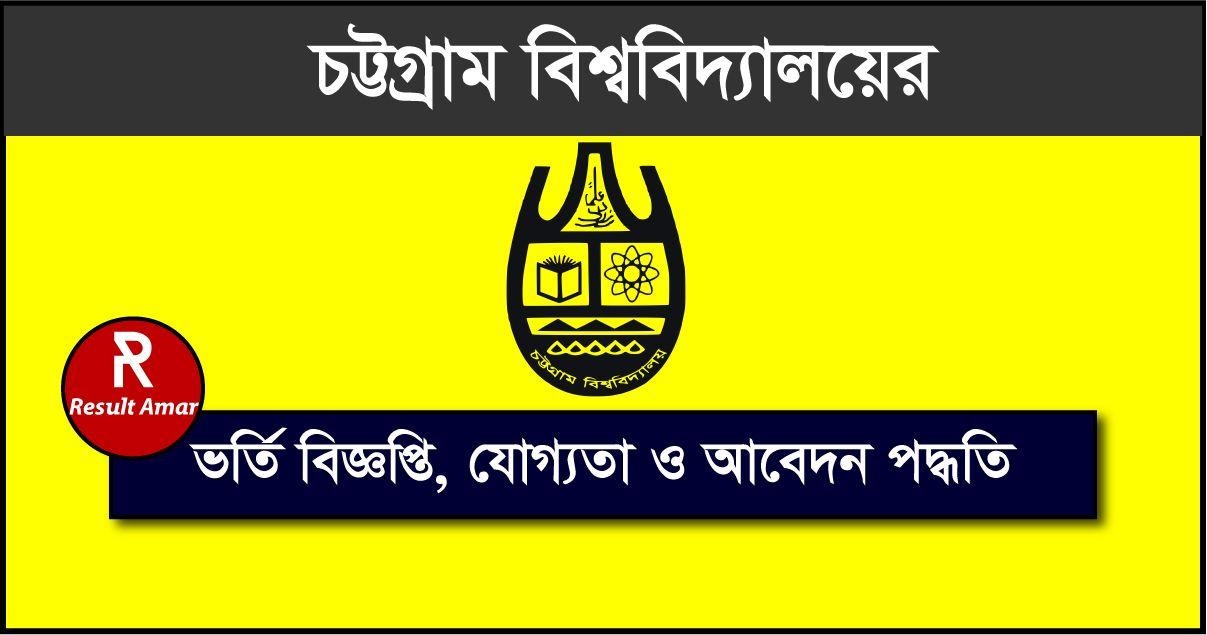 Chittagong University Admission Test Circular
