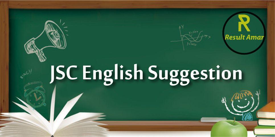 JSC English Suggestion 2019