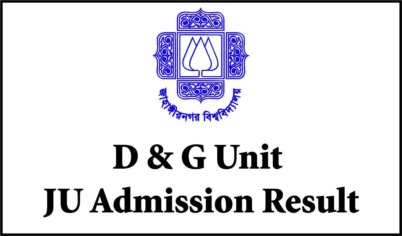 JU D Unit Result 2019