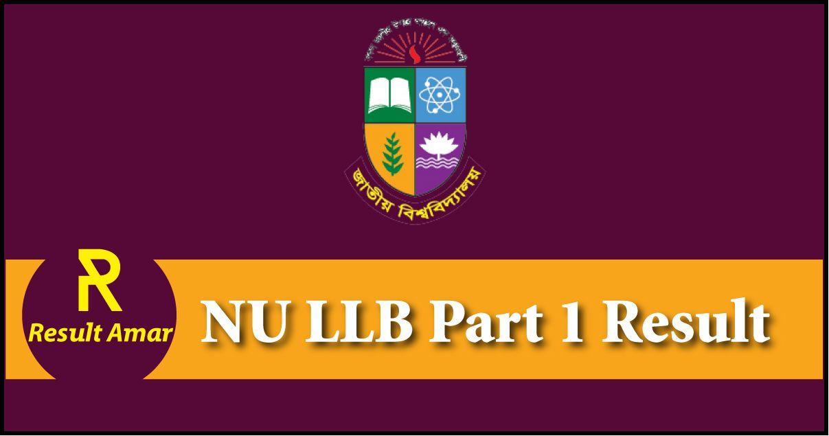 NU LLB Part 1 Result